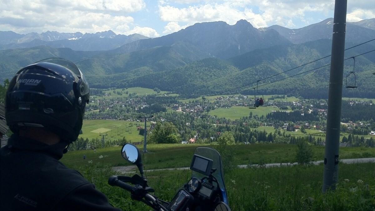 Vysoke Tatry, pohled z polské severní strany.